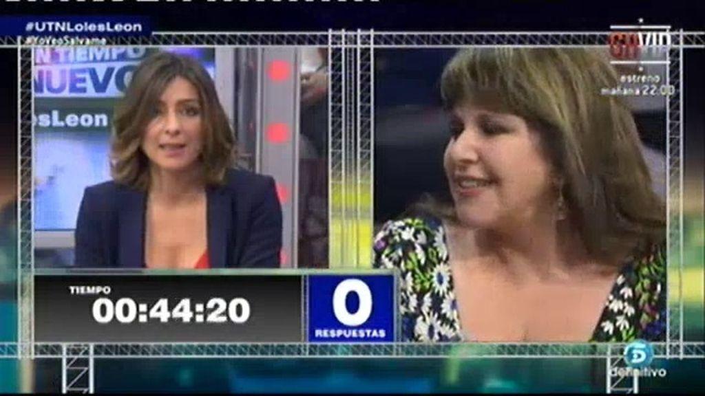 """Loles León al oír Mariano Rajoy: """"Mejor pasamos a otro"""""""