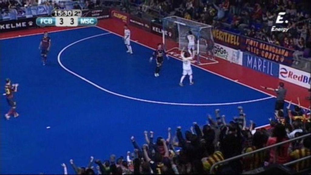 Gol de Gabriel  (Barça 4-3 Marfil)