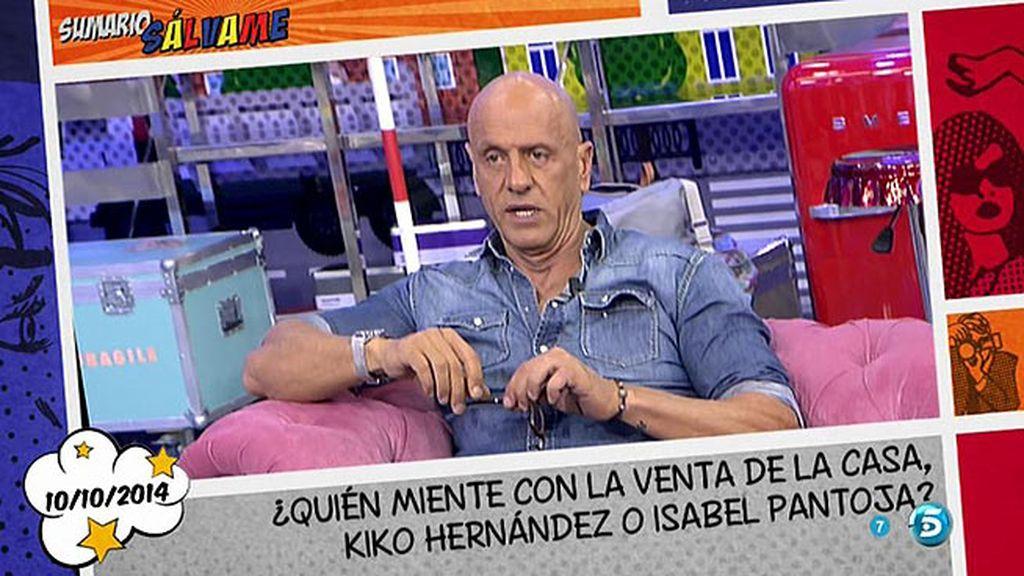 """Kiko Matamoros: """"Agustín Pantoja le ofreció a Kiko Hernández un par de abanicazos"""""""