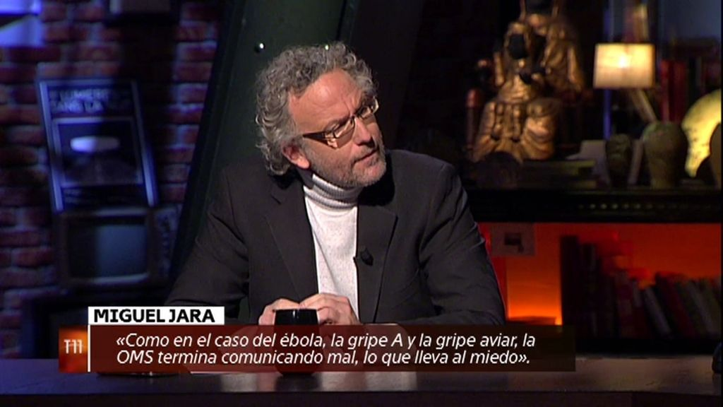 """Miguel Jara: """"La OMS comunica mal, exagera y genera situaciones de miedo"""""""