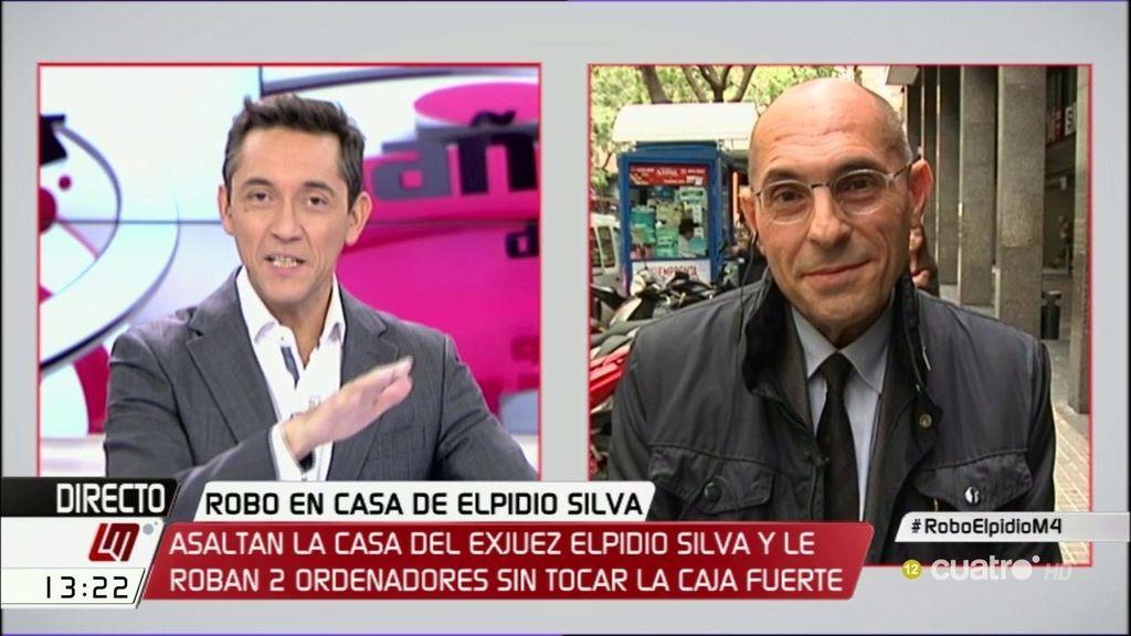 """Roban dos ordenadores en casa de Elpidio Silva: """"Puede haber cualquier hipótesis abierta"""""""