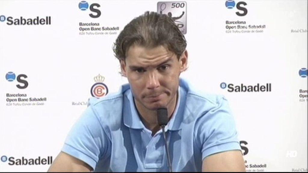"""Rafa Nadal: """"Hay que intentar recordar a Tito como el ejemplo que fue"""""""