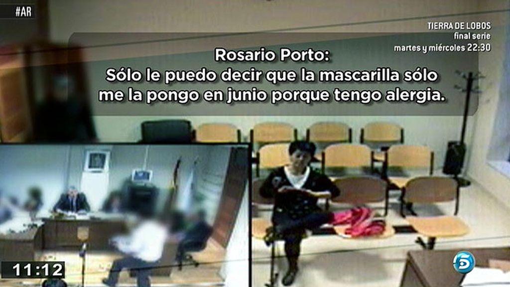 Porto no sabe cómo llegaron a la falda que llevaba el día del crimen los restos de orfidal hallados