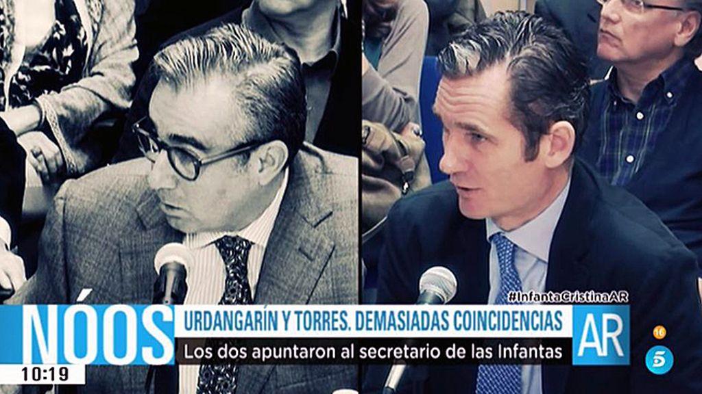 Urdangarin y Torres, declaraciones exactas