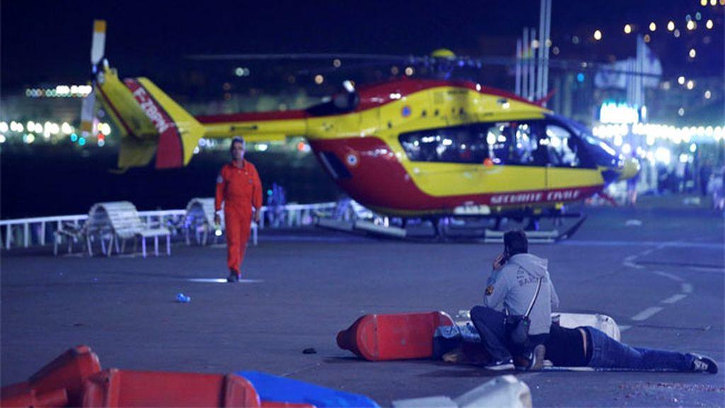 Más de un centenar de heridos, 18 de ellos en estado crítico, tras el atentado en Niza