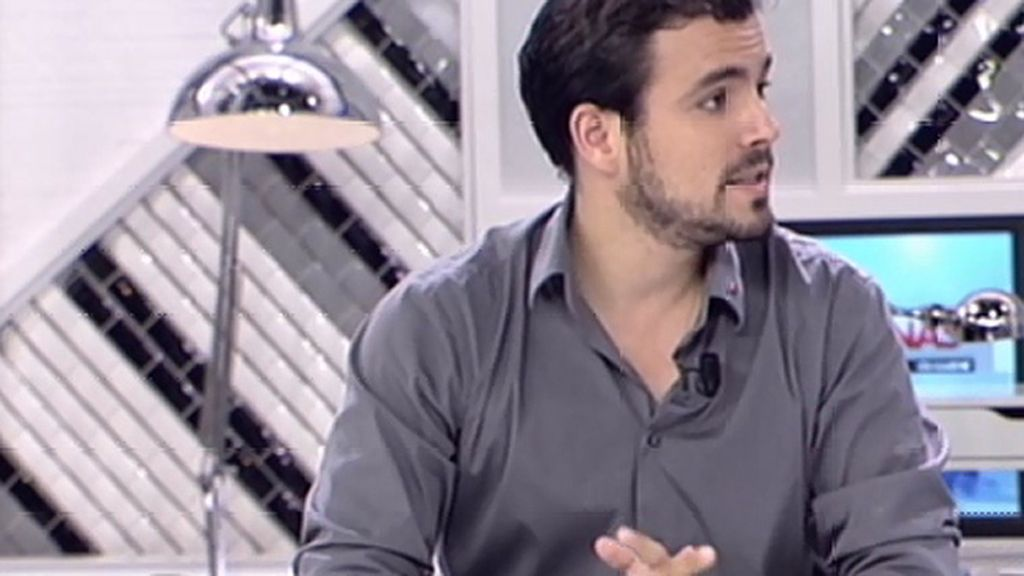 "A. Garzón, a Cosidó: ""Creo que es un intento de criminalizar las protestas sociales"""