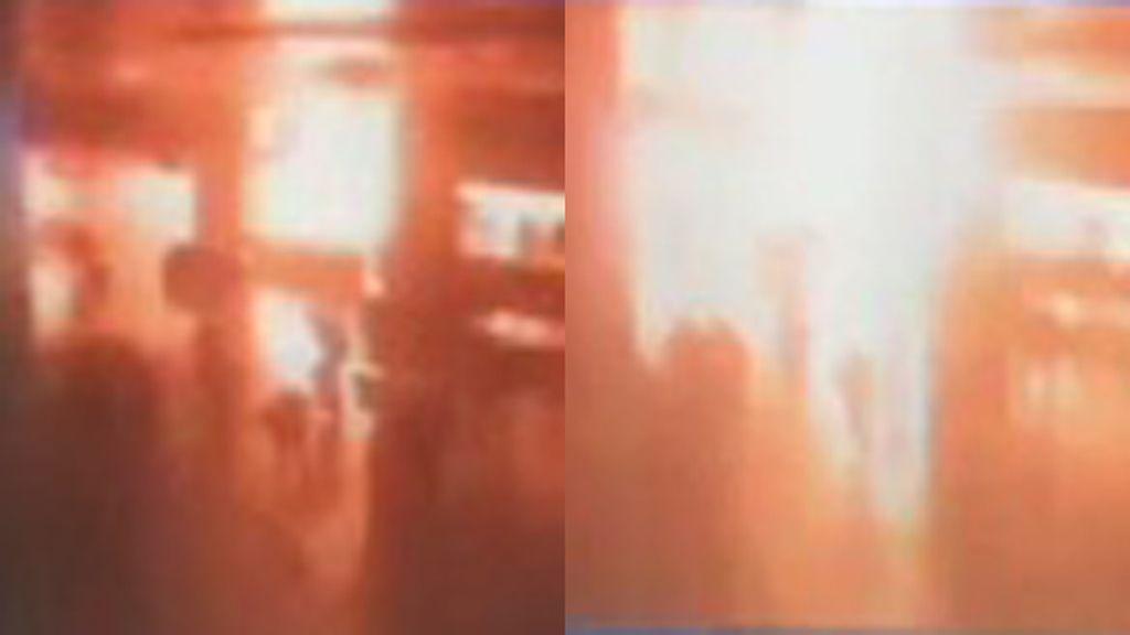 Así ha sido una de las explosiones del atentado del aeropuerto de Estambul