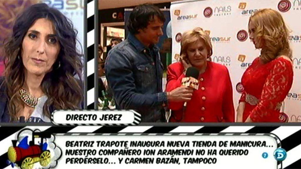 """Carmen Bazán habla de su nieta:  """"Para mí, Andrea forma parte de la familia"""""""
