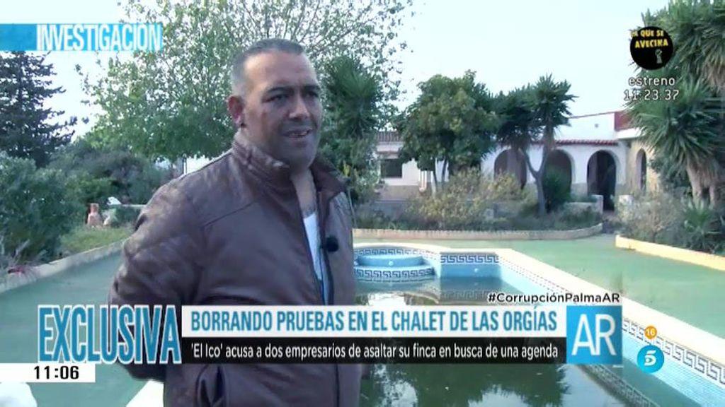 'El Ico', el hijo de 'La Paca' nos muestra el chalet de las orgías de Mallorca