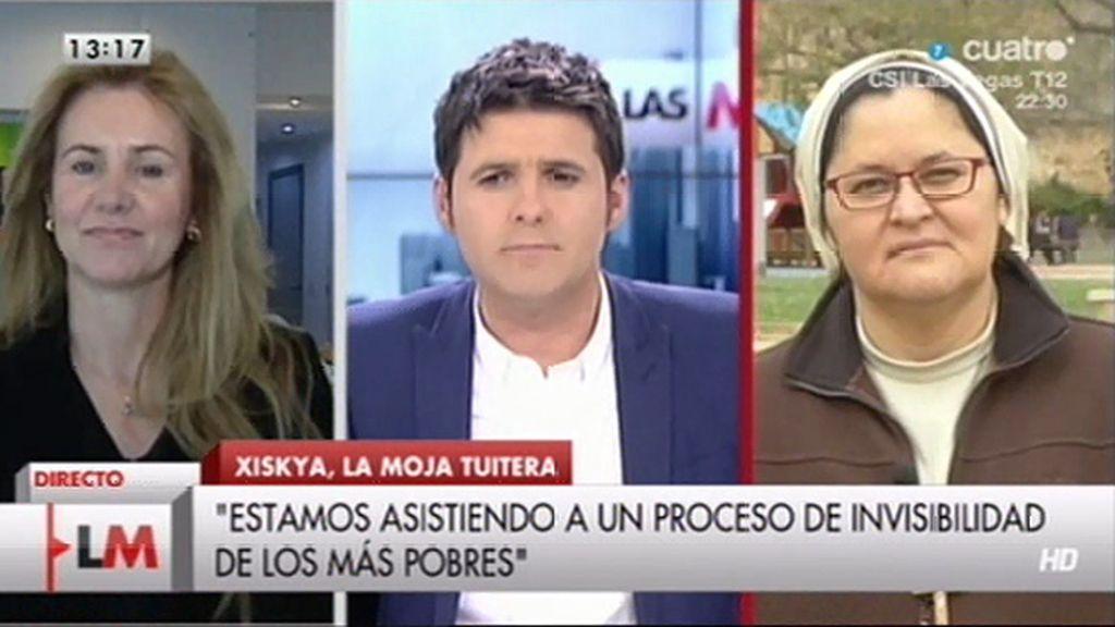 """""""Lo preocupante no es la tensión entre el gobierno y las ONGs sino la realidad que están sufriendo miles de españoles"""""""