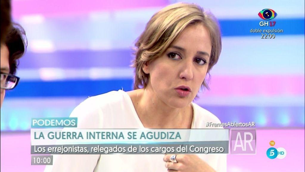 """Tania Sánchez: """"De discutir mucho salen los partidos más fuertes"""""""