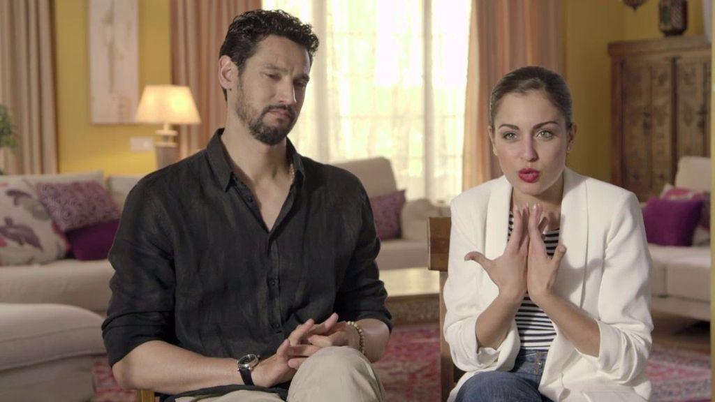 La escena más complicada para  Hiba Abouk y Stany Coppet