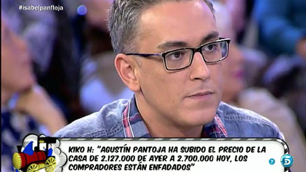 """Kiko H.: """"El motivo por el que no han comprado la casa de Pantoja es porque Agustín Pantoja vuelve a bailar la cifra"""""""