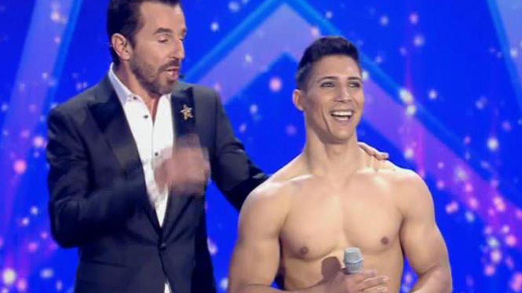 """Santi Millán, a Donet: """"Quiero tu cuerpo, pero sin hacer tanto esfuerzo como tú"""""""