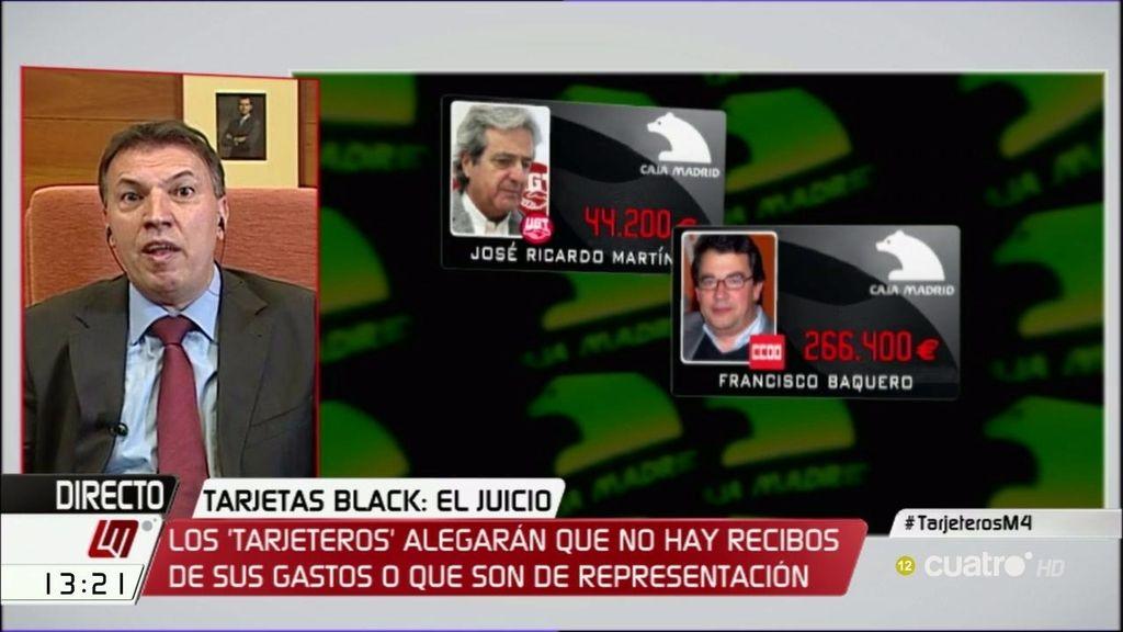 """Juez Bosch: """"Veo poco probable que se pueda anular el juicio de las 'tarjetas black"""""""
