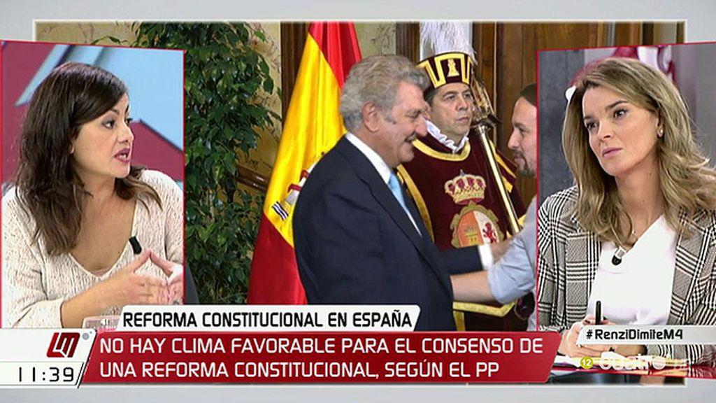 """Sira Rego (Unidos Podemos): """"Quien tiene la legitimidad para plantear determinados elementos también es la ciudadanía"""""""