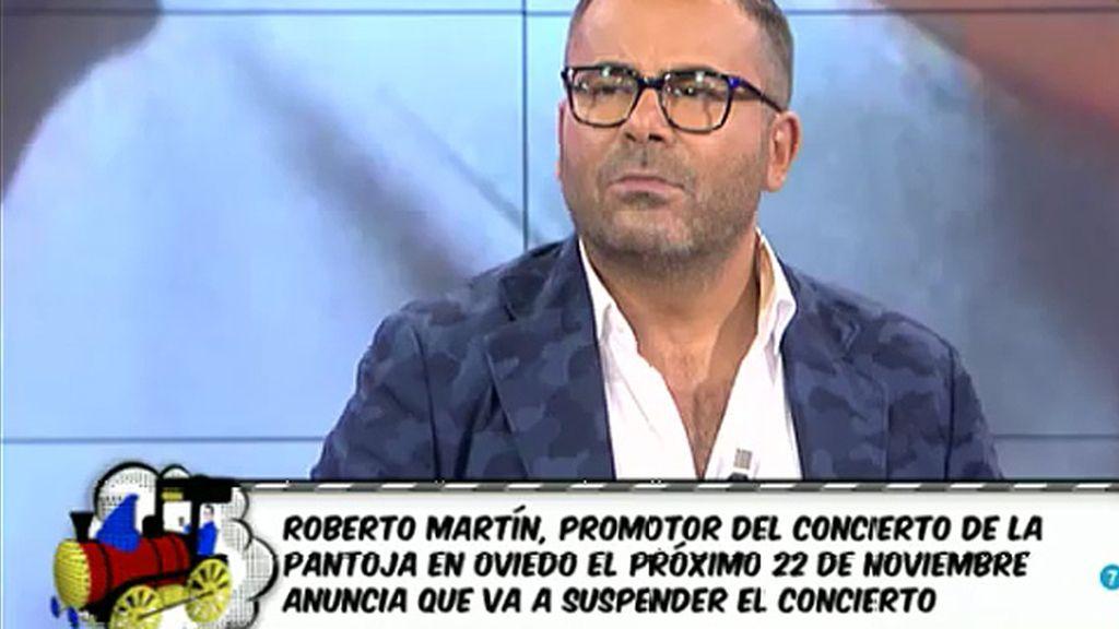 Suspenden el concierto de Isabel Pantoja programado para el día 22 de noviembre