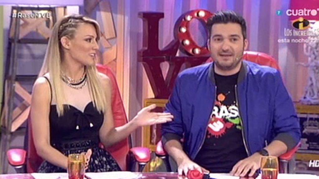 Xavi Rodríguez se 'venga' de Edurne con el 'karaoke kamikaze'