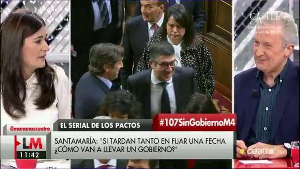 """Carmen Montón (PSOE), sobre el PP: """"Ya están en el fracaso de la política, están haciendo campaña"""""""