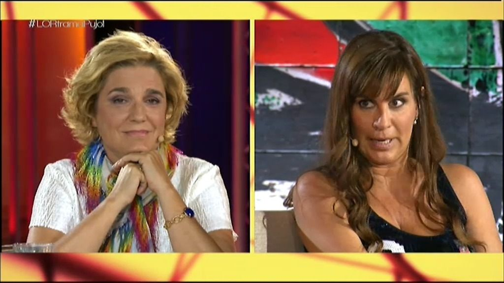 El rifi-rafe entre Pilar Rahola y Victoria Álvarez en 'La Otra Red'