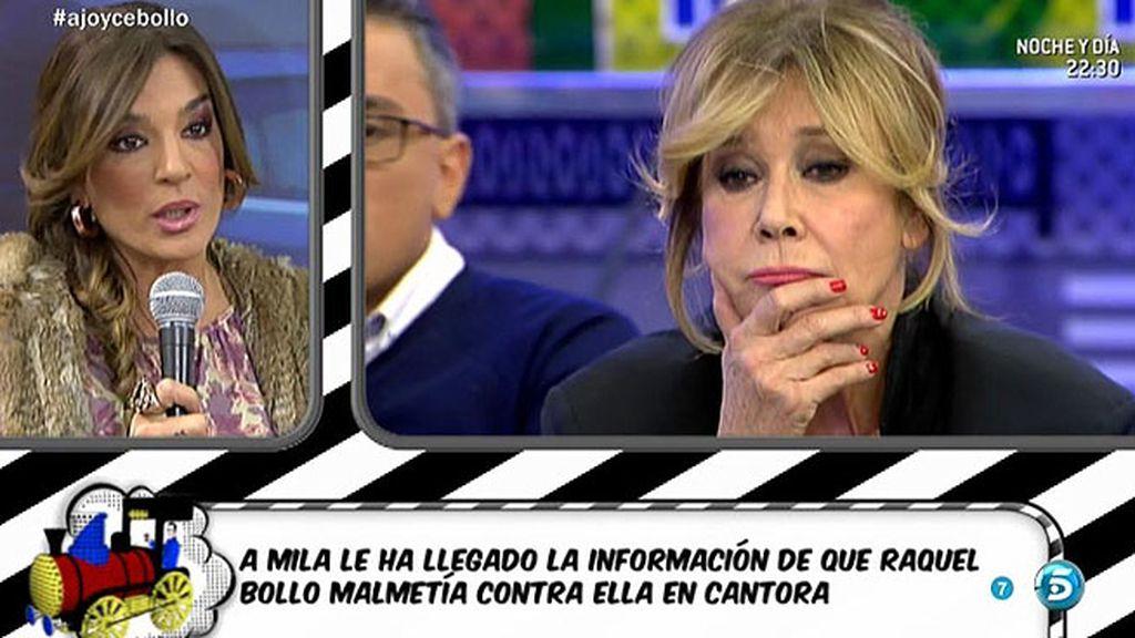 """Mila: """"En Cantora me querían demandar e instaron a Raquel Bollo a que me provocase"""""""