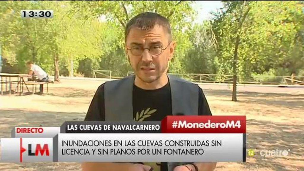"""Juan Carlos Monedero: """"Siempre que hay mordidas lo paga la ciudadanía"""""""