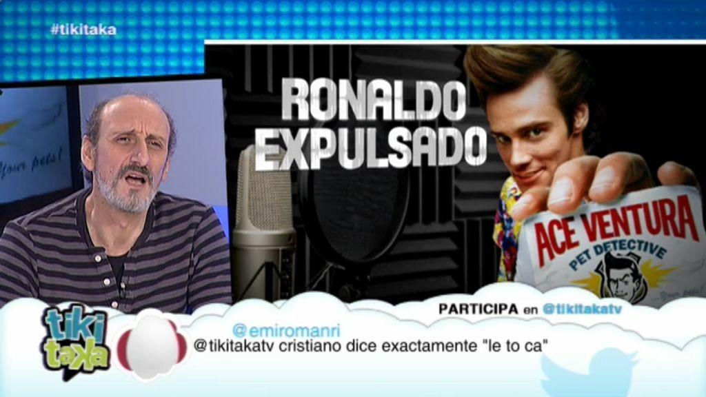 José Luis Gil dobla a 'Ace Ventura' y 'BuzzLightyear' comentando la Liga