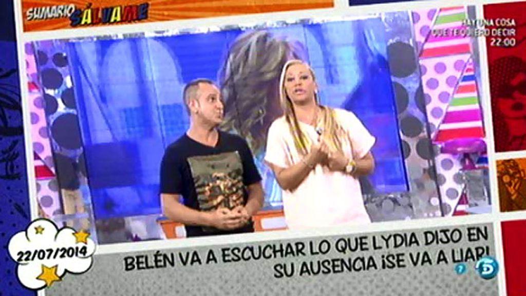 """Belén Esteban: """"A mí en la vida Jesulín de Ubrique me ha levantado la mano"""""""