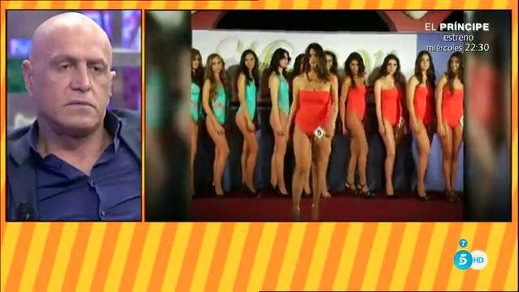 Laura Matamoros quiso ser Miss Sevilla