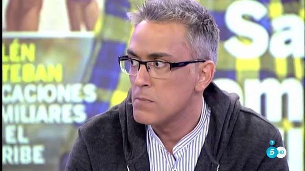 """Kiko H.: """"Sanchís dice que Belén Esteban tiene poca predisposición para el trabajo"""""""