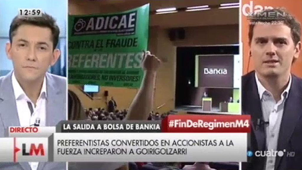 """Albert Rivera: """"Lo que este país necesita no es venganza, es justicia"""""""