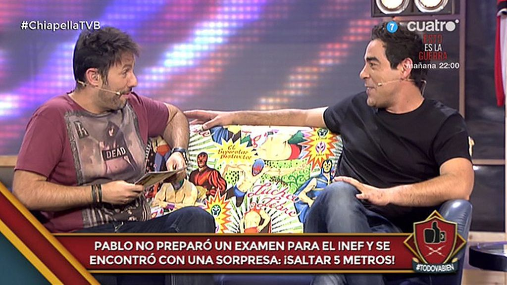 Test de 'señorío' a Pablo Chiapella