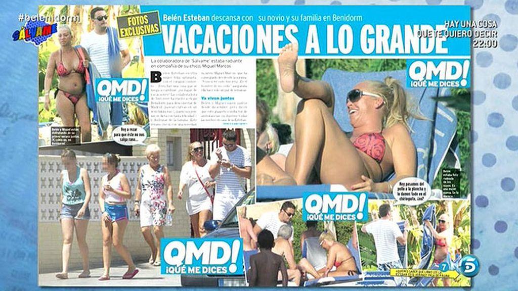 Las vacaciones de Belén en 'QMD!'