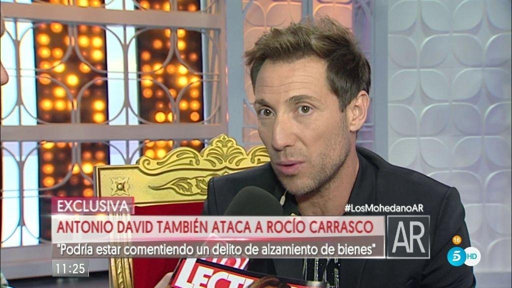 """A. David: """"Mi abogado estudiará si Rocío está causando un perjuicio a mis hijos"""""""