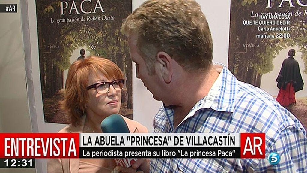 Rosa Villacastín presenta 'La princesa Paca. La gran pasión de Rubén Darío'