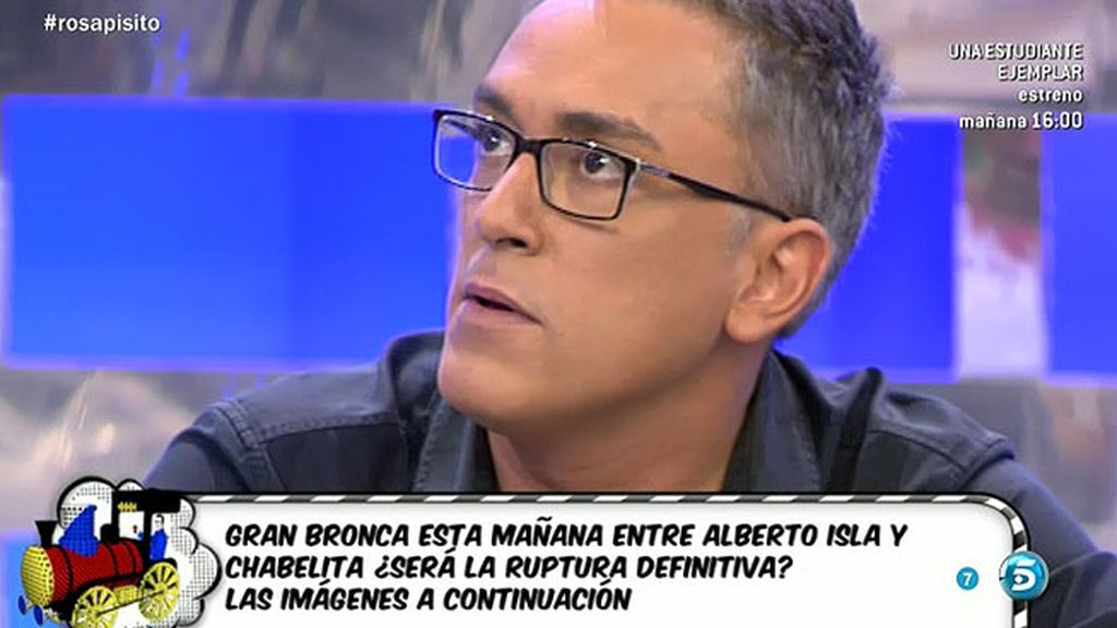 "Kiko Hernández: ""Amador está en peligro"""