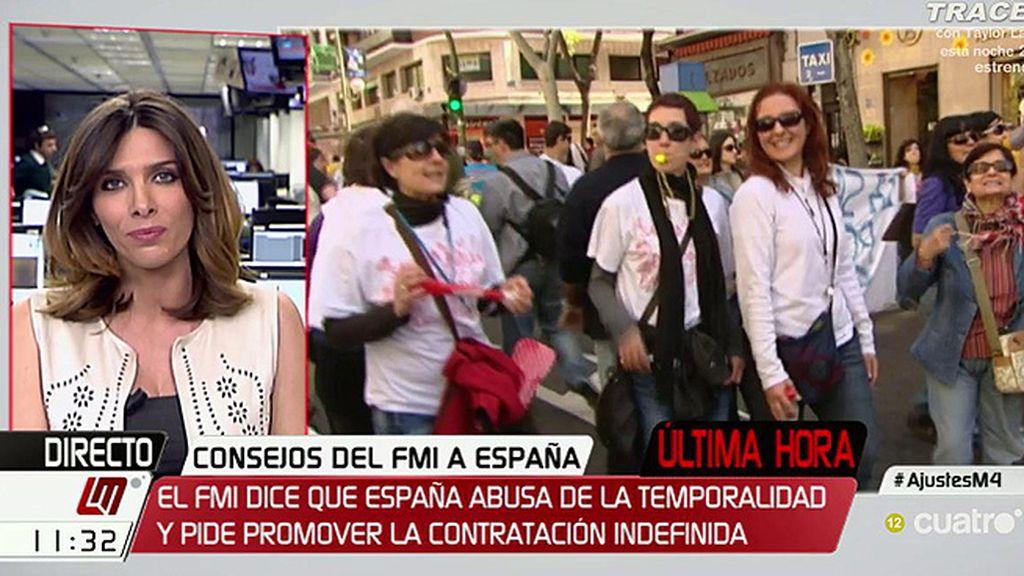 El FMI recomienda a España subir el IVA y más recortes