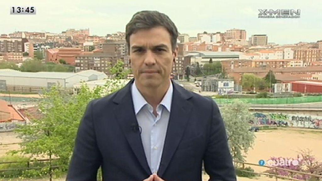 La entrevista con Pedro Sánchez