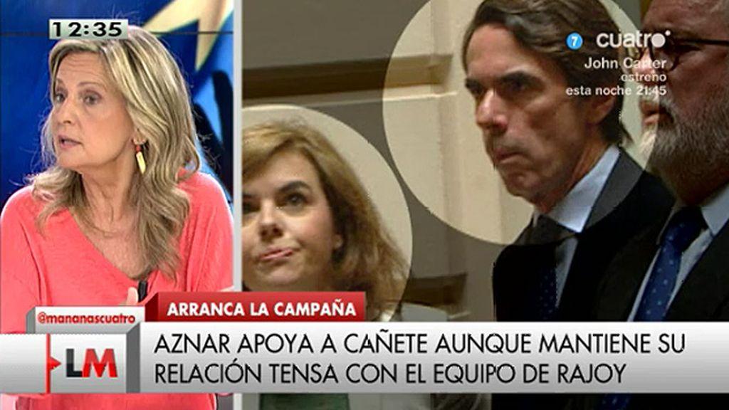 """""""Aznar no está en los mejores términos con la plana mayor pero había cordialidad"""""""