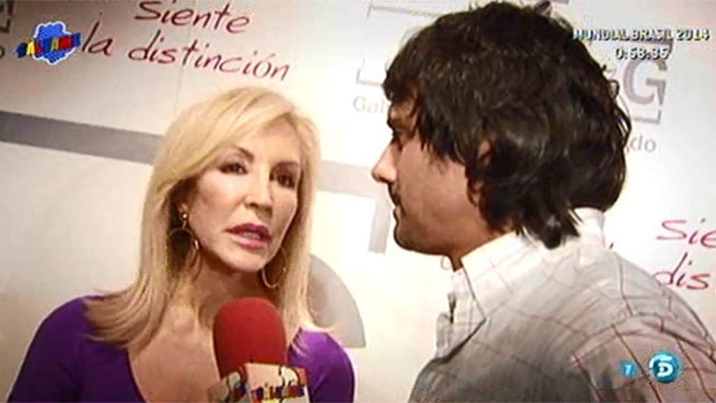 "Carmen Lomana ve ""imposible"" un acercamiento de posturas con Rafa"