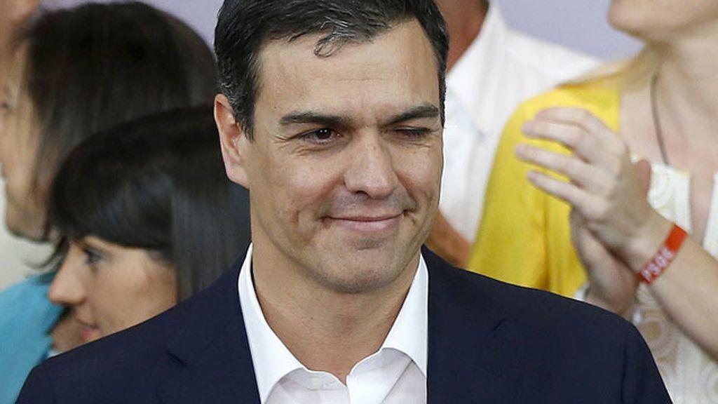 """Sánchez: """"No estoy satisfecho pero somos la primera fuerza política de izquierdas"""""""