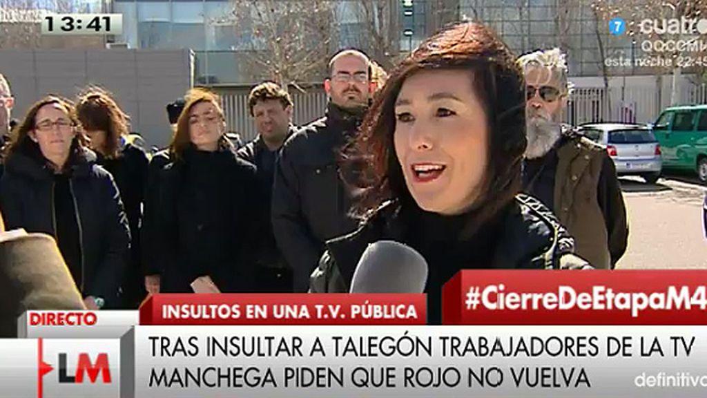 """Los trabajadores de Castilla - La Mancha TV: """"Nos sentimos avergonzados"""""""