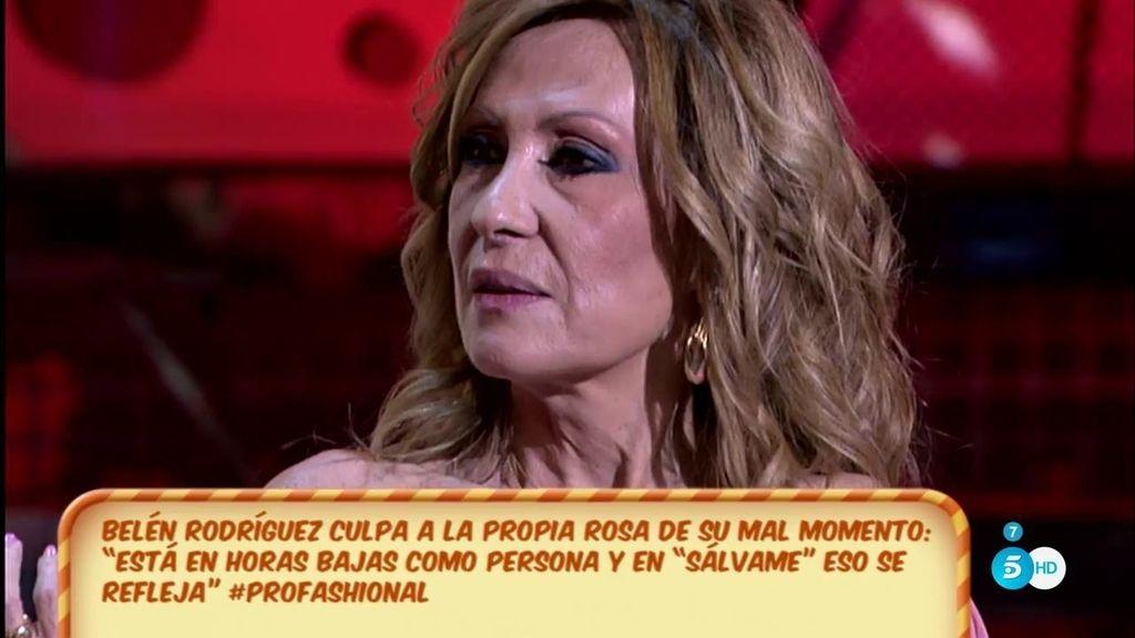 """Rosa Benito: """"No estoy pasando por mi mejor momento, veo que mi trabajo puede peligrar"""""""