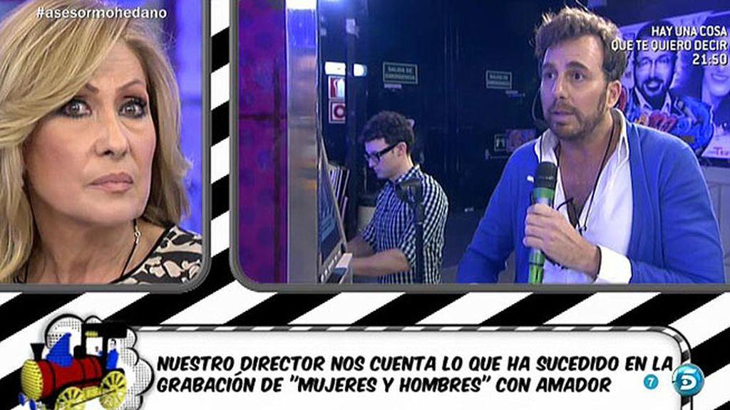 """R. Prieto: """"Amador ha hablado de ti y parece seguir sintiendo mucho rencor"""""""