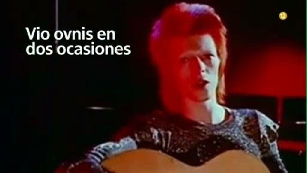 Vio ovnis en dos ocasiones: la otra cara de David Bowie, el domingo ...