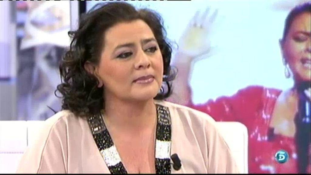 """María del Monte, sobre Chabelita: """"Yo quiero que le vaya bien a todo el mundo"""""""
