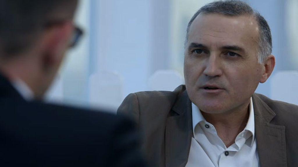 """Alberto Moya: """"Cuando arrojaron los bloques de hormigón, no recibimos ninguna orden"""""""