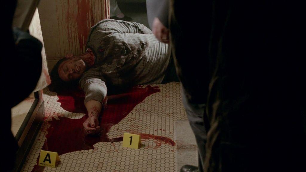 """Castle: """"¿Nueve cuchilladas? O era un crimen pasional o quería estar muy, muy, muy seguro"""""""