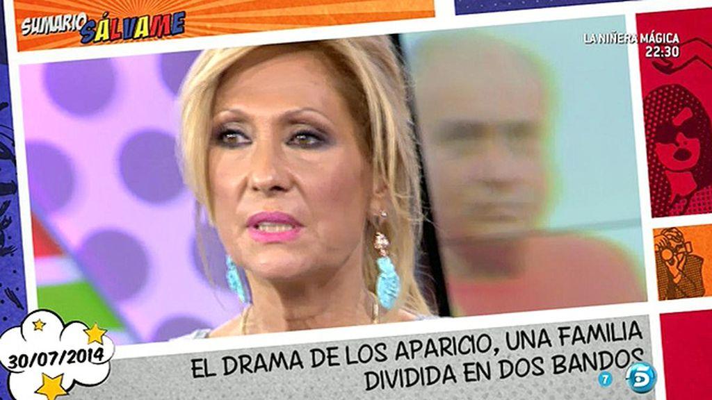 Tras su enfado, Rosa Benito no se arrepiente de las palabras que dirigió a Amador