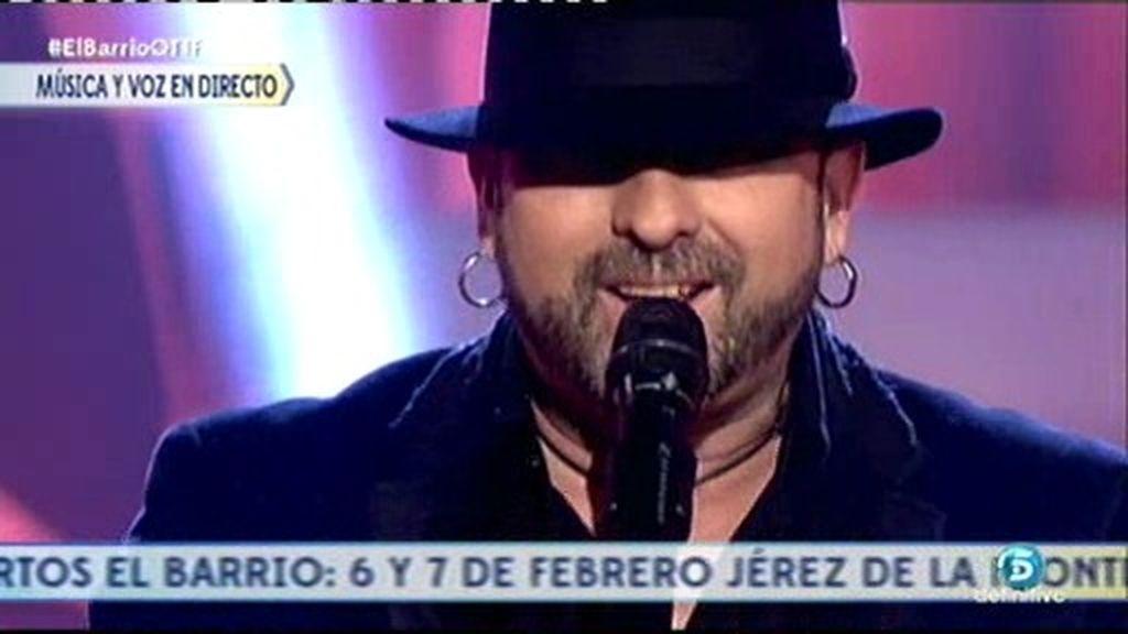 'El Barrio' canta en directo su tema 'Arte' en ¡Qué tiempo tan feliz!
